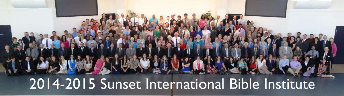 2014-2015 Sunset International Bible Institute
