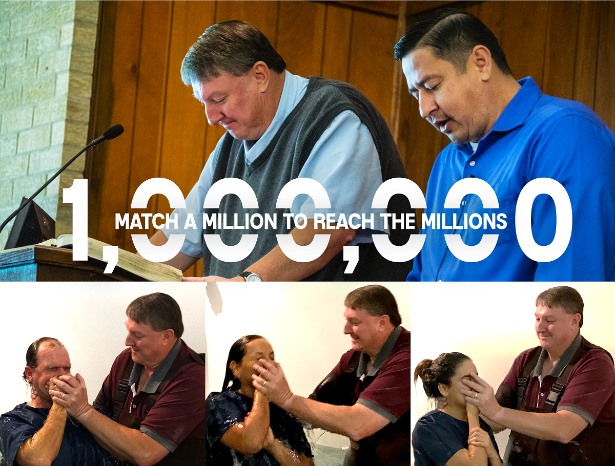 Match a Million to Reach the Millions