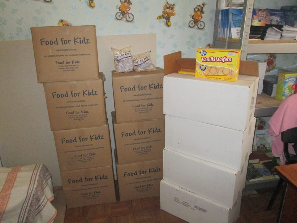 Food for helping families