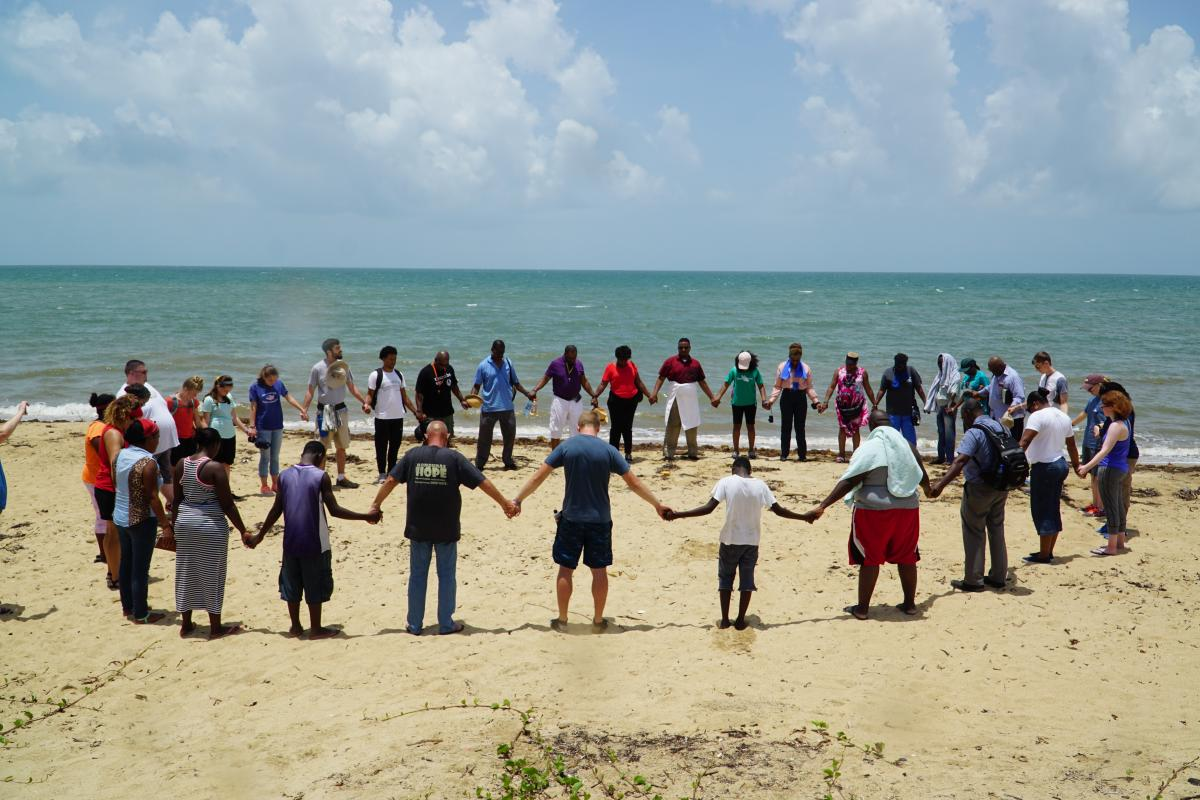 Welcome Circle in Belize