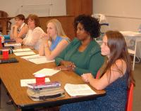 Women Studying in Class